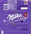 Milka, Alpine milk chocolate, 100g, 24.08.2012, Kraft Foods Espana Commercial, S.L., Madrid, made in Germany