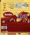 Marabou, Daim, milk chocolate with almond brittle, 200g, 16.08.2014, Mondelez International (Sverige), Sweden