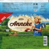 Anneke, milk chocolate with milk filling, 99g, 03.06.2016, AS Kalev, Lehmja, Estonia