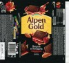 Alpen Gold, dark chocolate with cherry and almonds, 90g, 20.12.2013, Mondelez International, Mondelez Rus, Pokrov, Russia
