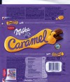 Milka, milk chocolate with caramel, 100g, 03.12.2013, Mondelez International, Mondelez Rus, Pokrov, Russia