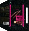 Darx, Dark chocolate with crushed hazelnuts and raisins, 100g, 18.04.2012, Babaevsky Confectionary Concern OAO, Moscow, Russia