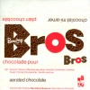 Bros, dark aerated chocolate, 1970, Bensdorp, Netherlands