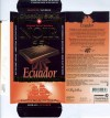 Ecuador, dark chocolate with cocoa from Ecuador, 70g, 16.06.2006, Chocolat Stella SA, Chocolat Bernrain AG, Kreuzlingen, Switzerland
