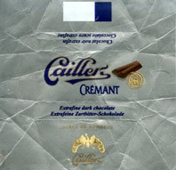 Extrafine dark chocolate, Caillers, Switzerland