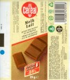 Milk chocolate for diabetic, 25g, NV Sandoz Nutrition SA Cereal, Beerzel, Belgium