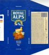 Royal Alps, milk chocolate, 100g, 21.10.2003, Choko Service BT, Budapest, Hungary