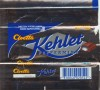 Kehlet, chocolate with mint cream filling, 34g, 24.09.1998