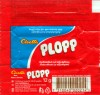 Plopp, milk chocolate with soft toffee filling 42%, 12g, 06.05.2006, Cloetta Fazer Sverige AB, Ljungsbro, Sweden