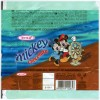 Mickey chocolate, milk chocolate with hazelnut, 20g, 01.2007, Ersa Sakiz Sekerleme Ve Gida San. Tic. Ltd, Istanbul, Turkey