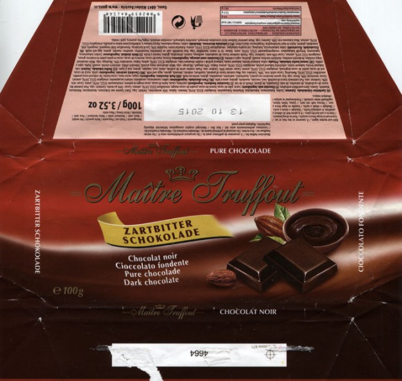 Dark chocolate, 100g, 13.10.2014, Gunz, Mader, Austria