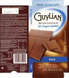 Guylian belgian chocolate, no sugar added, milk chocolate with sweetener, 100g, 28.08.2012, Chocolaterie Guylian N.V., Sint-Niklaas, Belgium