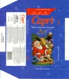 Capri, milk compound chocolate, 75g, 18.09.2007, HAS Industries Co.Ltd., Tompsan, Bulgaria