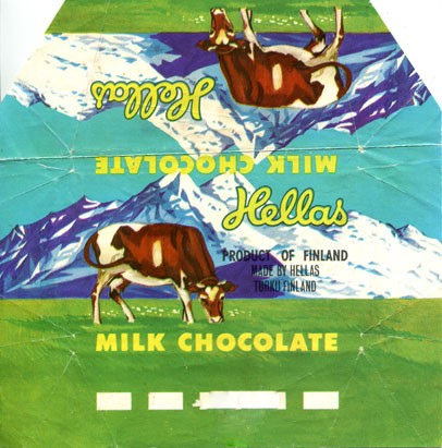 Milk chocolate, Hellas, Turku, Finland