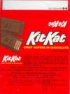 KitKat, 15g, about 1990, Hershey Foods Corporation, H.B.Reese Candy Co., U.S.A.
