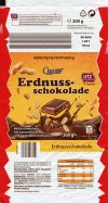 Choceur, milk chocolate with nuts, 200g, 09.2015, Hosta GmbH and Co. KG, Stimpfach, Germany