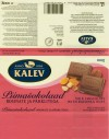 Kalev, milk chocolate with raisins & nuts, 100g, 07.1999