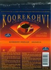 Koorekohvi, milk chocolate with cream and coffee, 50g, 30.06.2004, Kalev, Lehmja, Estonia