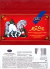 Milk chocolate with hazelnuts, fruit pieces and rice crisp, 50g, 08.2005, Kalev, Lehmja, Estonia