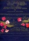 Aromaatne, sweet bar, 50g, 21.03.1985, Kalev, Tallinn, Estonia