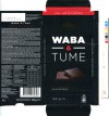 Waba & tume, Kalev dark chocolate with sweetener, 100g, 07.06.2012, AS Kalev Chocolate Factory, Lehmja, Estonia