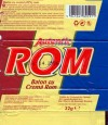 Autentic rom, milk chocolate rum cream filling, 32g, 16.04.2005, S.C.Kandia-Excelent S.A, Bucharest, Romania