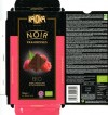 Bio Dark chocolate with raspberries, 100g, 11.2012, Kaoka, Le Pontet, France