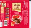 Alpen Gold, milk chocolate filled with strawberry and yoghurt cream, 100g, 18.03.2008, Kraft Foods Russia, Pokrov, Russia