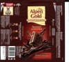 Alpen gold, dark chocolate, 100g, 25.10.2009, Kraft Foods Russia, Pokrov, Russia