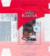 Karuna, milk chocolate strawberry and yoghurt filled, 100g, 07.06.2004