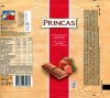 Princas, milk chocolate with strawberry and milk filled, 100g, 19.11.2009, Kraft Foods Lietuva, Kaunas, Lithuania