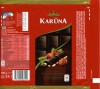 Karuna, chocolate with whole hazelnut, 100g, 30.11.2011, Kraft Foods Lietuva, Kaunas, Lithuania