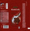 Karuna, aerated milk chocolate, 80g, 17.05.2012, Kraft Foods Lietuva, Kaunas, Lithuania