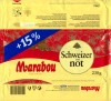 Marabou, milk chocolate with hazelnuts, 200g, 01.06.2004