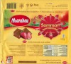 Marabou, Sommar!, milk chocolate with pieces of freeze-dried strawberries, 180g, 01.02.2009, Kraft Foods Sverige, Angered, Sweden