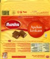 Marabou, Apelsin krokant, orange-flavored milk chocolate and crunchy, 200g, 01.08.2009, Kraft Foods Sverige, Angered, Sweden