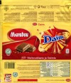 Marabou, Daim, milk chocolate with almond croquant, 200g, 13.12.2010, Kraft Foods Sverige, Angered, Sweden
