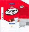 Dorina, milk chocolate, 80g, 19.08.2006, Kras, Zagreb, Croatia