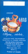 Milk chocolate, 5g, Kras, Zagreb, Croatia