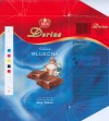 Dorina, super milk, milk chocolate, 80g, 07.02.2006, Kras, Zagreb, Croatia
