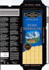 Amanie, white chocolate, 200g, 20.09.2006, Lidl Stiftung&Co.KG, D-74167 Neckarsulm, Germany