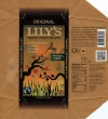 Original Lilys dark chocolate, stevia sweetened, 85g, 11.30.2013, Lilys Sweets LLC, Santa Barbara, USA