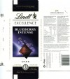Lindt Excellence, extra fine dark chocolate with almonds and blueberries, 100g, 06.2012, Lindt & Sprungli AG, Kilchberg, Switzerland