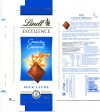 Lindt Excellence, milk chocolate with crunchy caramel, 100g, 10.2012, Lindt & Sprungli AG, Kilchberg, Switzerland