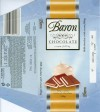 Baron, milk chocolate with cream filling, 100g, 02.2008, Millano LTD, Przezmierowo, Poland