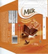 Milk chocolate with caramel flavoured filling, 100g, 10.06.2013, ZWC Millano, Przezmierowo, Poland
