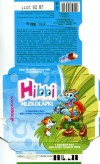 Hibbi, chocolate bars with cream flavoured filling, 50g, 28.09.2010, Millano ZWC, Przezmierowo, Poland