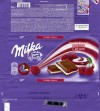 Milka, milk chocolate with cherry cream, 100g, 24.10.2013, Mondelez, Bulgaria