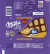 Milka, milk chocolate and TUC cracker, 87g, 30.06.2014, Mondelez International, Hungary