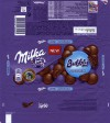 Milka, milk chocolate with air milk chocolate filling, 100g, 26.02.2014, Mondelez International, Germany